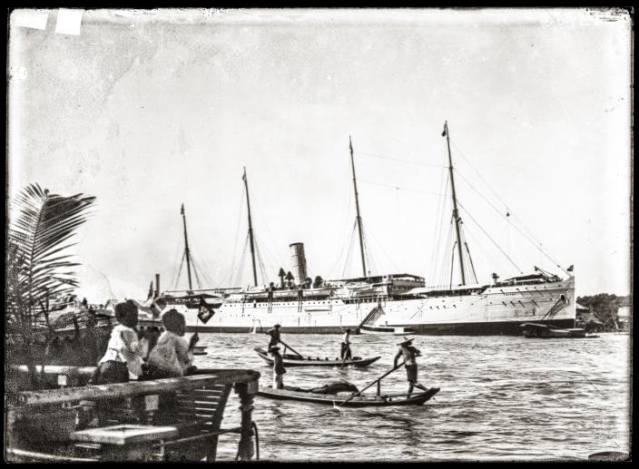 S.S. Birma, an East Asiatic Co. steamboat.