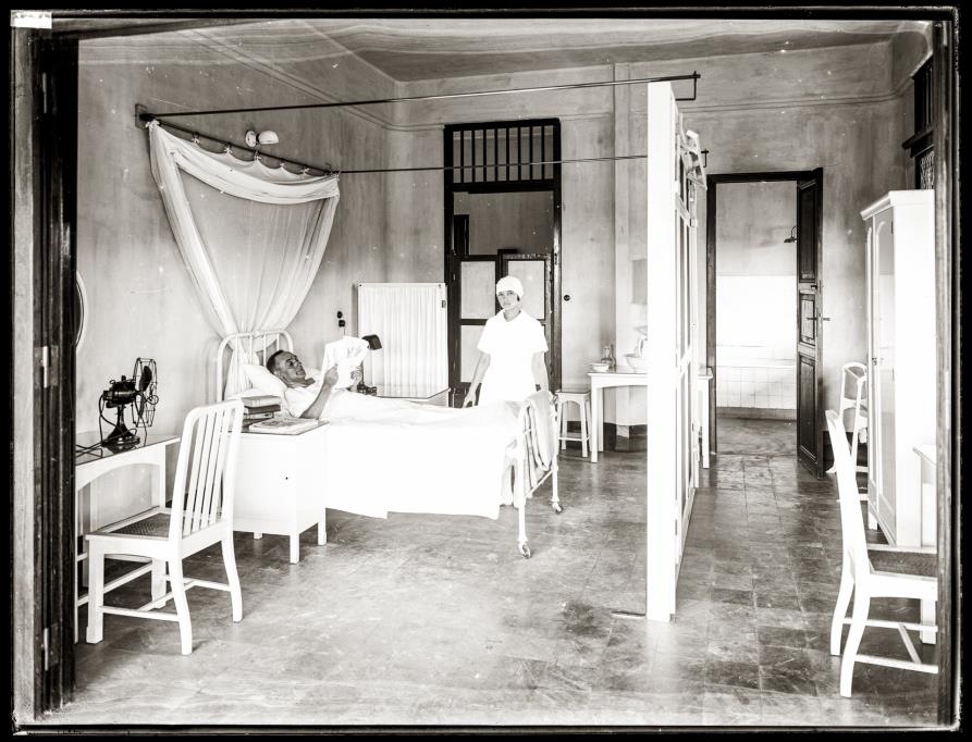 A medical laboratory, the Bangkok Nursing Home.