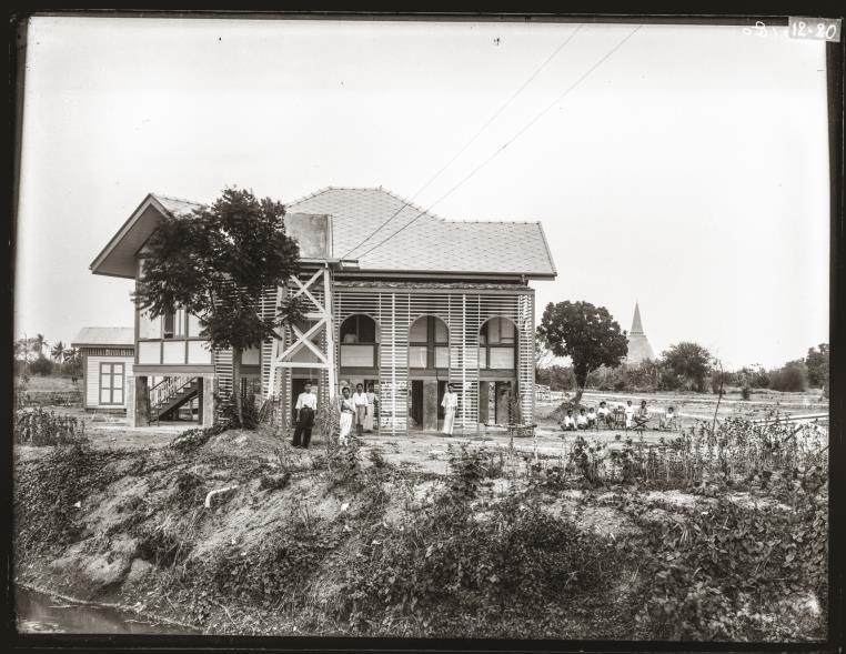 The residence of Phraya Burinavarath