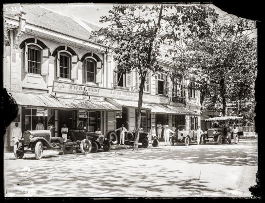 J. R. André Co. premises at Sikak Phraya Si.