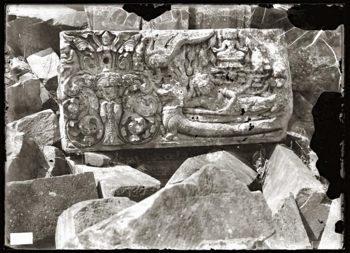 The stone lintel, Prasat Phanom Rung.