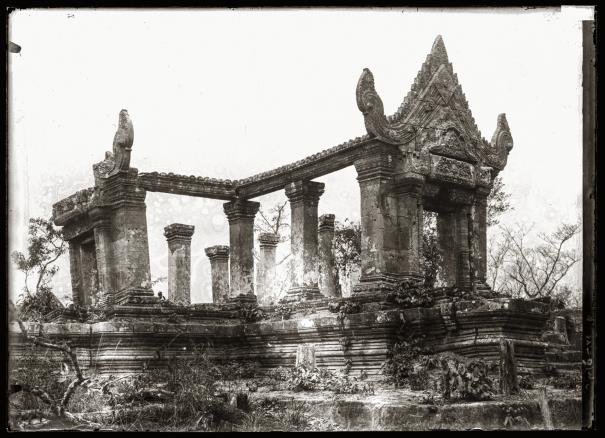 The Temple of Preah Vihear.