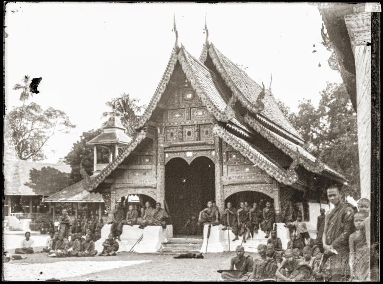 A view of Wat Buppharam.